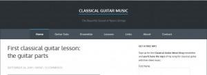 classical guitar music blog