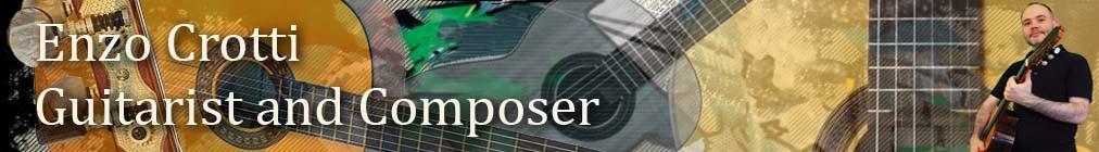 Header - Enzo Crotti - Italian Guitarist and Composer