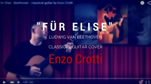 Fur Elise - classical guitar video
