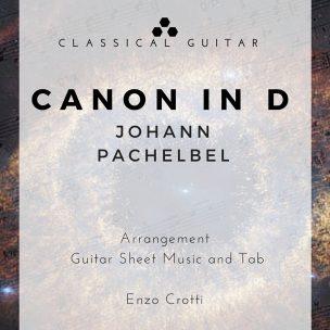 Pachelbel Canon Guitar Score